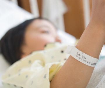 入院中の子供達の保育